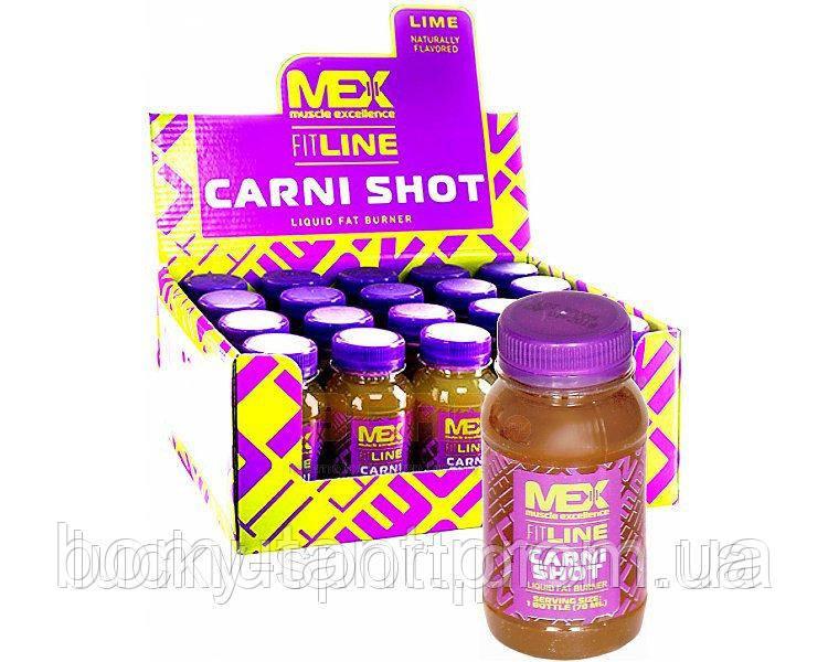 Carni Shot 20 x 70 ml lime MEX Nutrition