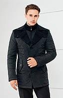 Осенне - зимняястеганая куртка в стиле «Business - casual»торговой марки  Sun's house