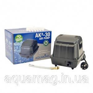 Аэратор AquaKing AK²-30, мембранный компрессор, аэратор для пруда, водоема, септика, УЗВ