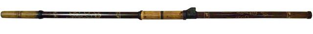 Духовое ружье (духовая трубка) с 3-мя стрелами (119 см)