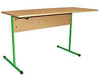 Стол аудиторный, Двухместный 120х50х76 см. Цвет на выбор