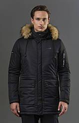 Мощнаязимняя мужская  куртка
