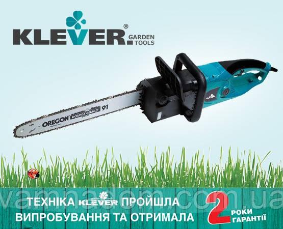 Електропила KLEVER-1800 Польща, 2 роки гарантії
