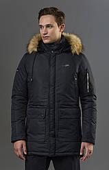 Классическая мужская зимняя куртка