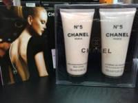 Набор гель для душа + парфюмированный лосьон для тела  Chanel №5