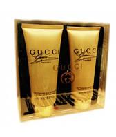 Набор гель для душа + парфюмированный лосьон для тела  Gucci Premiere