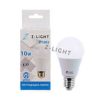 Светодиодная лампа Z-light ZL1003 10W E27 4000K (Белый свет)