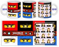 Кружка чашка Ninjago - Ниндзяго