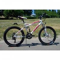 Подростковый горный велосипед Azimut Race G-FR-D Plus колесо 24