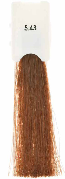 Стойкая крем-краска Maraes Color 5.43 Светлый медно-золотистый каштан
