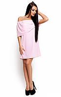 Жіноче коктейльне рожеве плаття Fiona