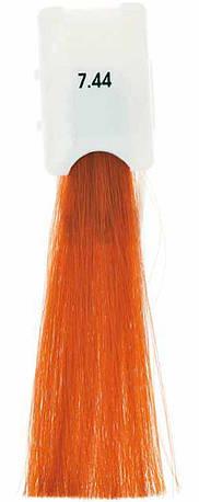Стойкая крем-краска Maraes Color 7.44 Интенсивный медно-золотистый блонд