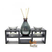 Японский настольный декор с вазой