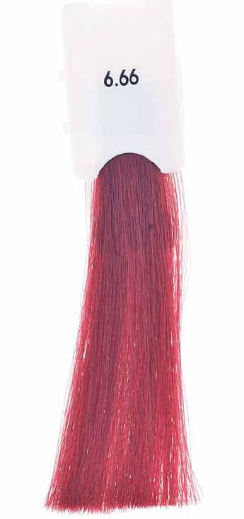 Стойкая крем-краска Maraes Color 6.66 Интенсивно красный темный блонд
