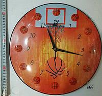 Часы настенные Баскетбол-666