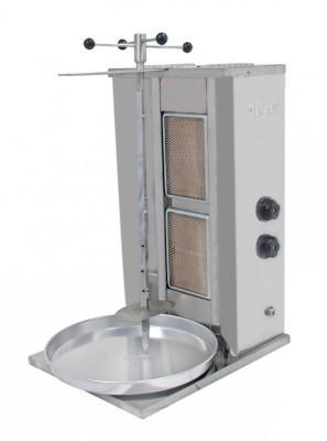 Газовая шаурма на 30 кг Pimak М073 (2горелки)