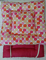 Подушки на табуреты, лавки, стулья 32×32