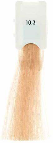Стойкая крем-краска Maraes Color 10.3 Золотистый платиновый блонд