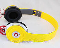 Наушники Monster Beats by Dr.Dre Solo HD Yellow