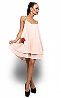 Жіноче повсякденне персикове плаття Assoll