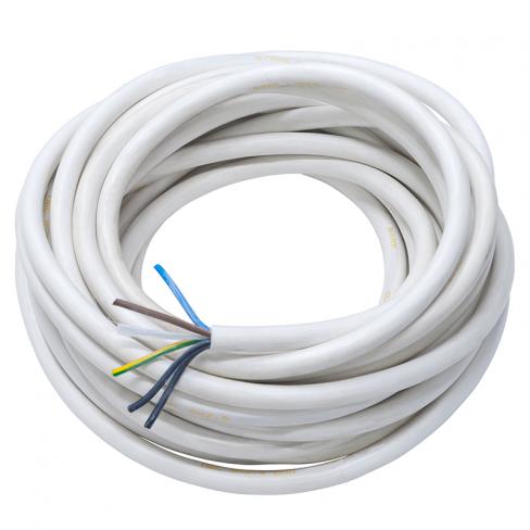Медный провод ПВС 2х1 | кабель пвс 2*1