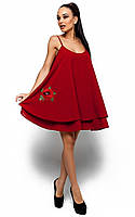 Жіноче повсякденне червоне плаття Assoll