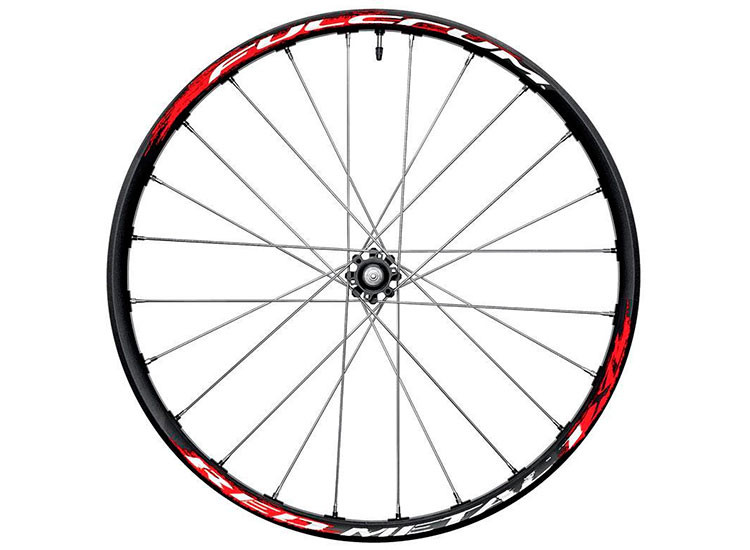 Fulcrum колесо переднее Red Metal 1 XL black/silver disc 6 bolts alu RM1-11DFB