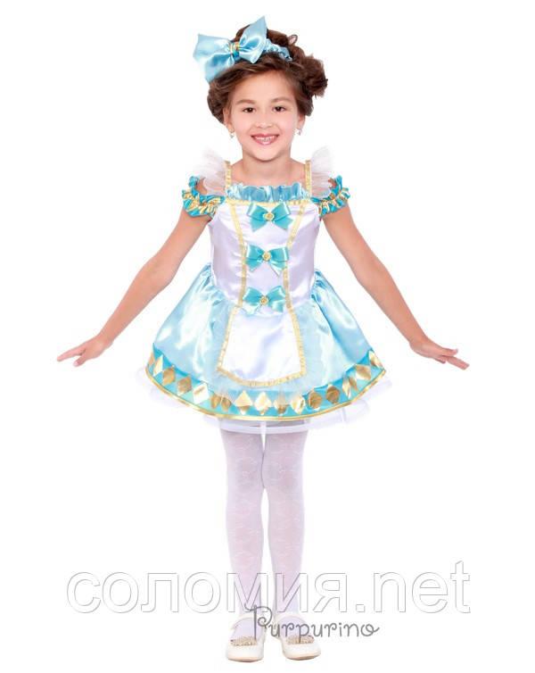 Детский костюм для девочки Алиса в стране Чудес