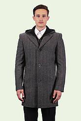 Пальто мужское в стиле инвернес для повседневной носки