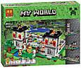 """Конструктор лего майнкрафт Аналог Lego Minecraft Bela 10472 """"Крепость"""" 990 дет., фото 2"""
