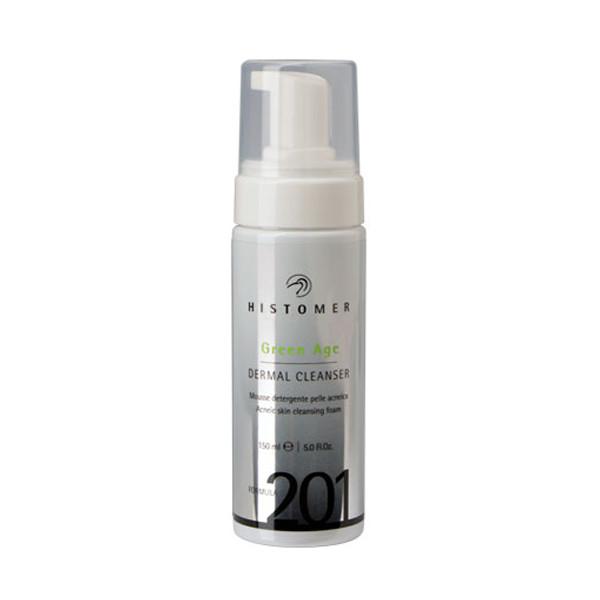 FORMULA 201 green age dermal cleanser Очищаючий мус для проблемної шкіри, 150 мл Histomer