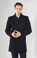 Двубортное мужское пальто