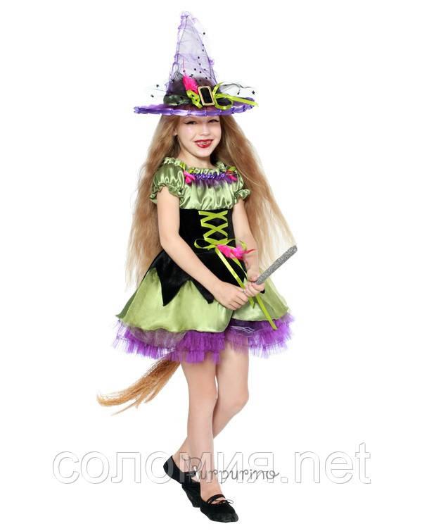 Детский костюм для девочки Ведьмочка
