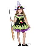 Детский костюм для девочки Ведьмочка, фото 2