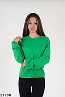 Женская блузка Подіум Imagis 21290 XS Зеленый