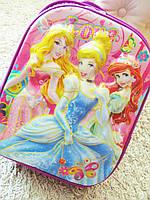 Школьный рюкзак 3d Принцессы