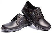 Кожаные туфли Kristan Premium Leather Black