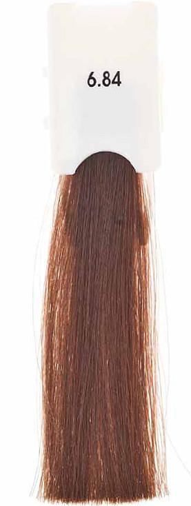 Стойкая крем-краска Maraes Color 6.84 Теплый медный темный блонд