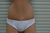 Трусики слип белые 2306/14 Sofia Jasmine Lingerie.