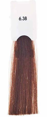 Стойкая крем-краска Maraes Color 6.38 Теплый ореховый темный блонд