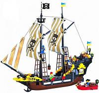 Brick 307 конструктор Корабль путешественников 590 деталей