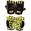 B-Fit Gloves Black M size MEX Nutrition, фото 6