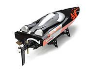 Катер на р/у 2.4GHz Fei Lun FT010 Racing Boat 65см (черный)