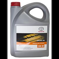 Масло моторное синтетика 5W-30 5 л. (производство TOYOTA ), код запчасти: 0888083389