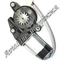 Двигатель электрического реечного стеклоподъемника Гранат: 14 зубъев серая оплетка проводов