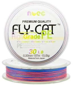 Шнур плетеный Япония Ntec Fly Cat 135m Multicolor