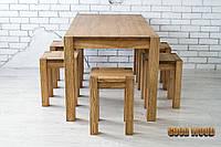 Стол деревянный Ст-1, (Ш1400* В760 * Г900)