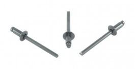 Заклепка отрывная, нержавеющая сталь, DIN 7337 (0126)
