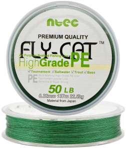 Шнур плетеный Япония Ntec Fly Cat 135m