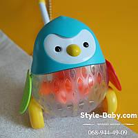 Каталка Пингвин для малышей на батарейках в коробке 21-21,5-18,5 см